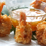 beer battered coconut shrimp