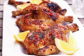 Portuguese barbequed chicken